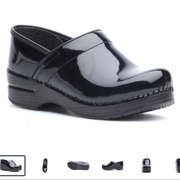 Black Patent Leather Clogs | Poshmark